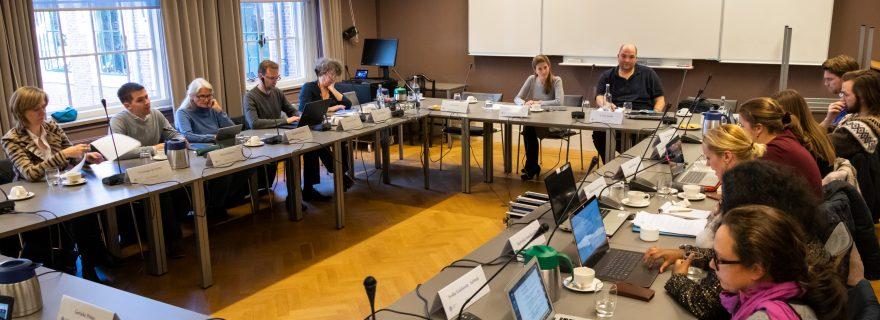 3x Universiteitsraad in actie
